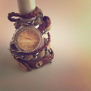 Wrap watch.